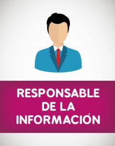 Responsable de la Información